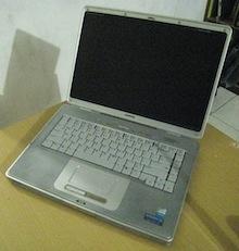 jual laptop second compaq presario v4000