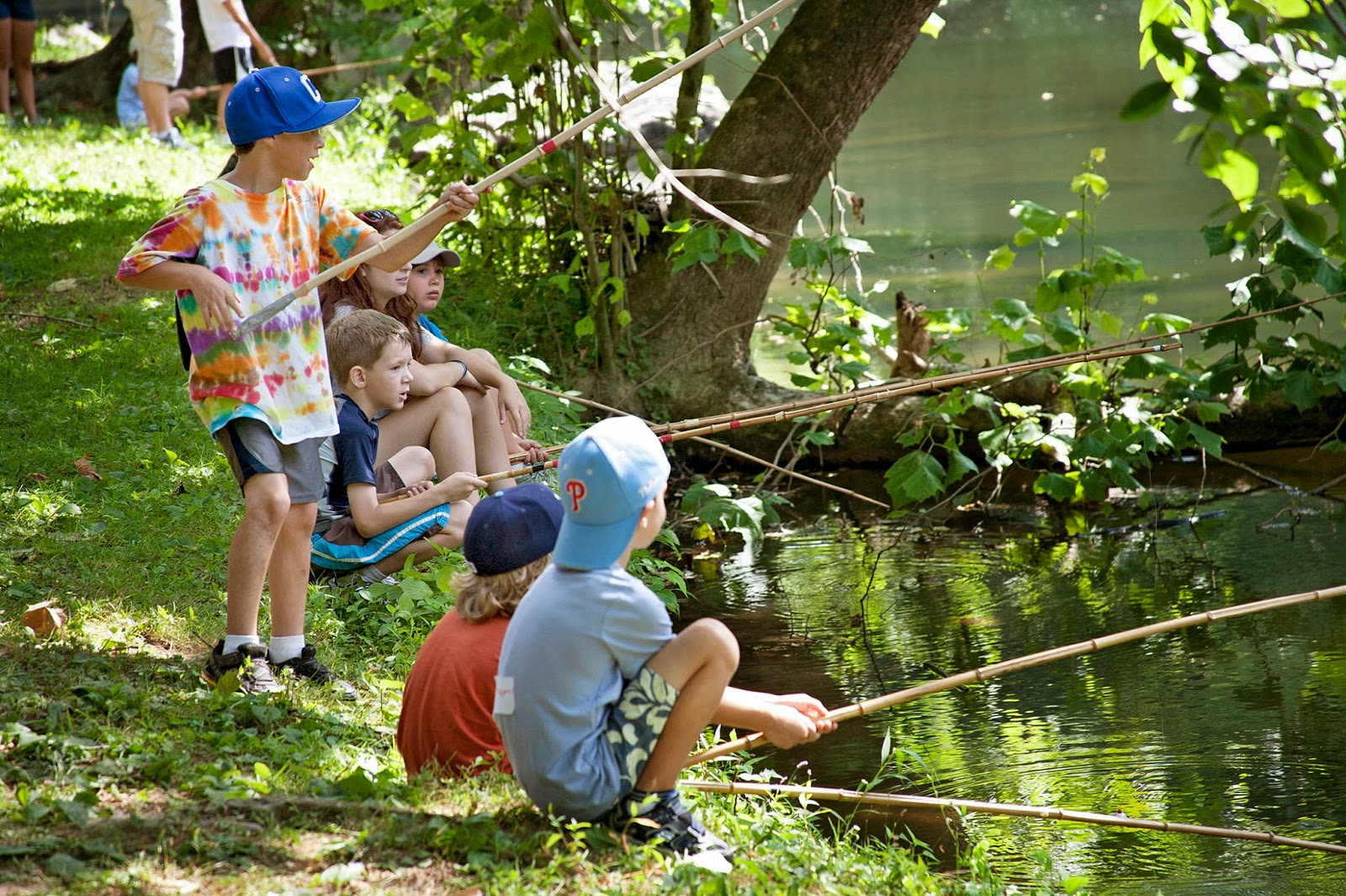 Fun things to do with kids by kids for kids past times for Fishing summer camp
