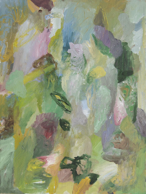 Druid's Dream - Acrylics on Canvas - 46 x 61 cm - Niklas J Brandow