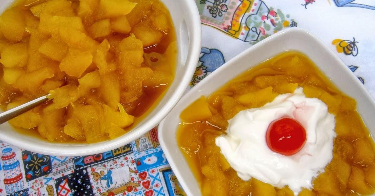 Compota de manzana casera la cocina de la abuela - Cocina casera de la abuela ...
