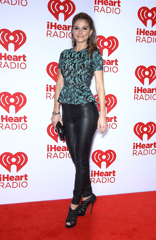 Maria Menounos at 2012 iHeartRadio Music Festival
