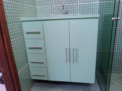 Armário de Banheiro  Verde Claro  Moysés Móveis  Móveis em geral sob medid -> Armario Banheiro Verde