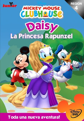 Mickey Mouse Daisy La Princesa Rampuncel 2016 DVD R4 NTSC Latino