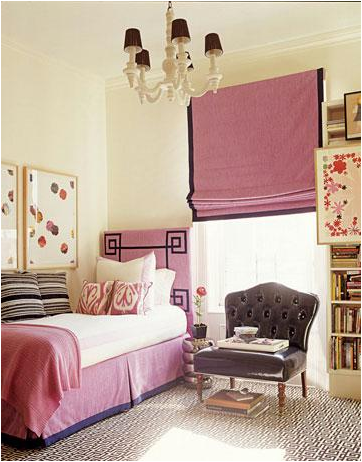 teen girl bedroom idea 23 how cute is that silver pink black and