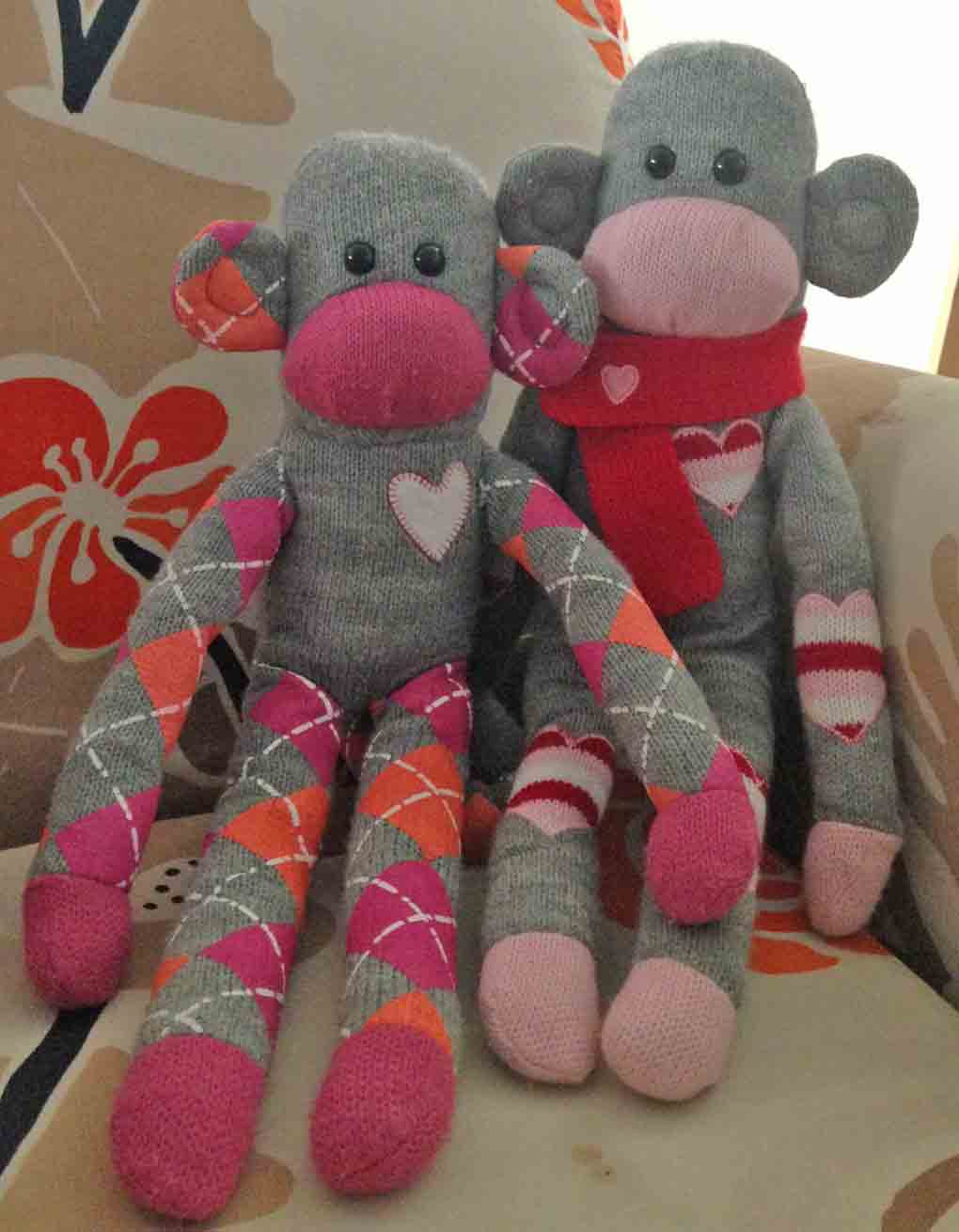 our epic sock monkey christmas sock monkeys hanging out around