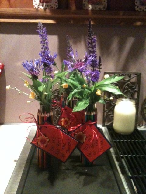 A Little Bit Of Home Teacher Appreciation Gifts Colored Pencil Vase