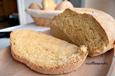 pane giallo con lievito madre ricetta antica