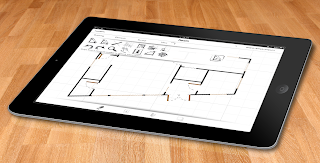 OrthoGraph on iPad screen