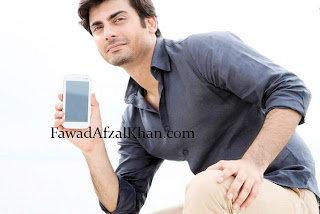 Fawad Khan Q-Mobile