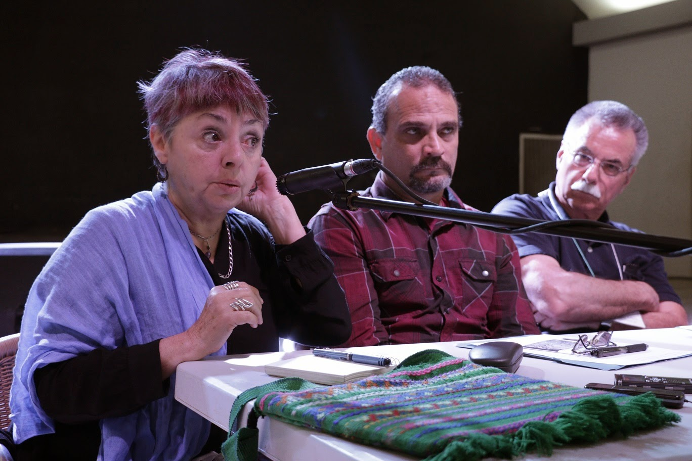 Ana Esther, Humberto y Leo Mayer