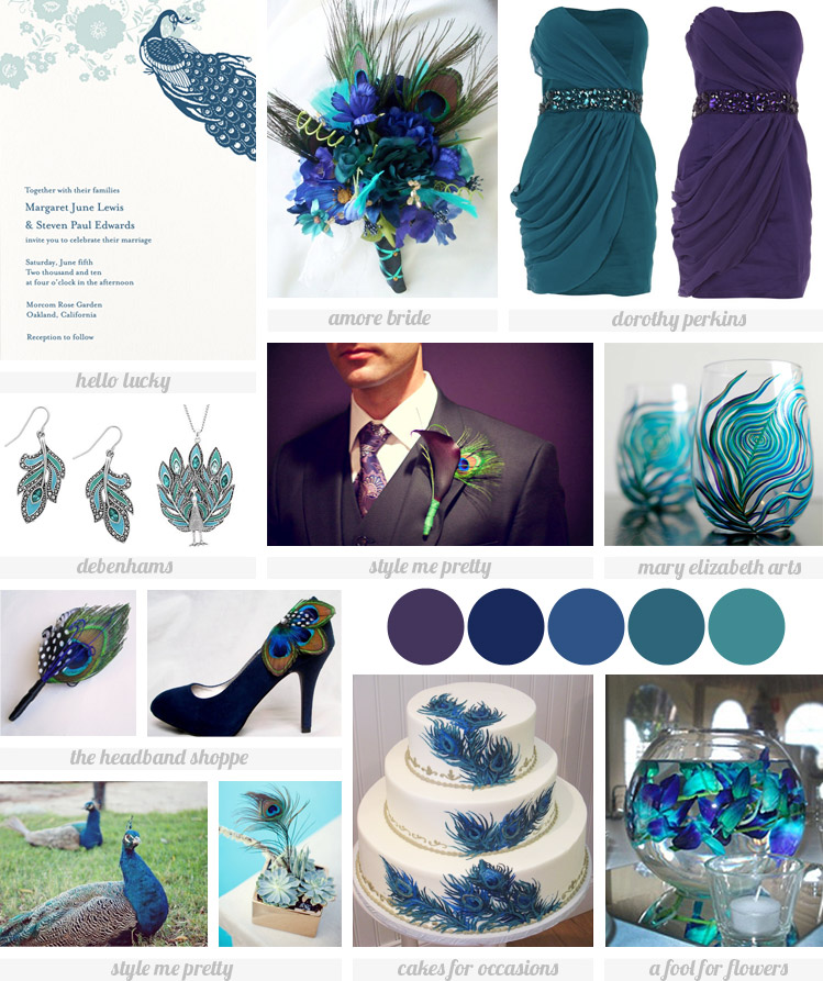 Caspers Fashion World Wanna A Peacock Themed Wedding