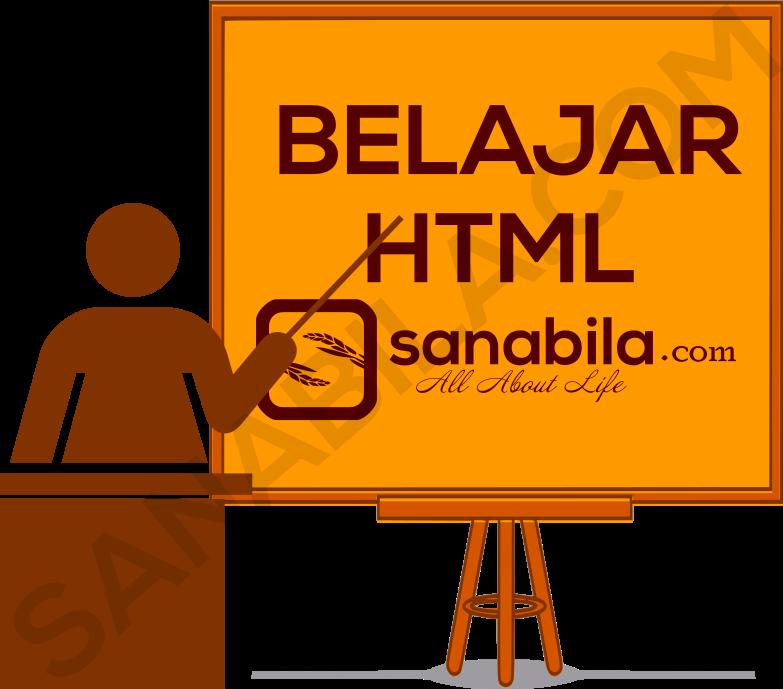 Macam-Macam Tag Pada HTML
