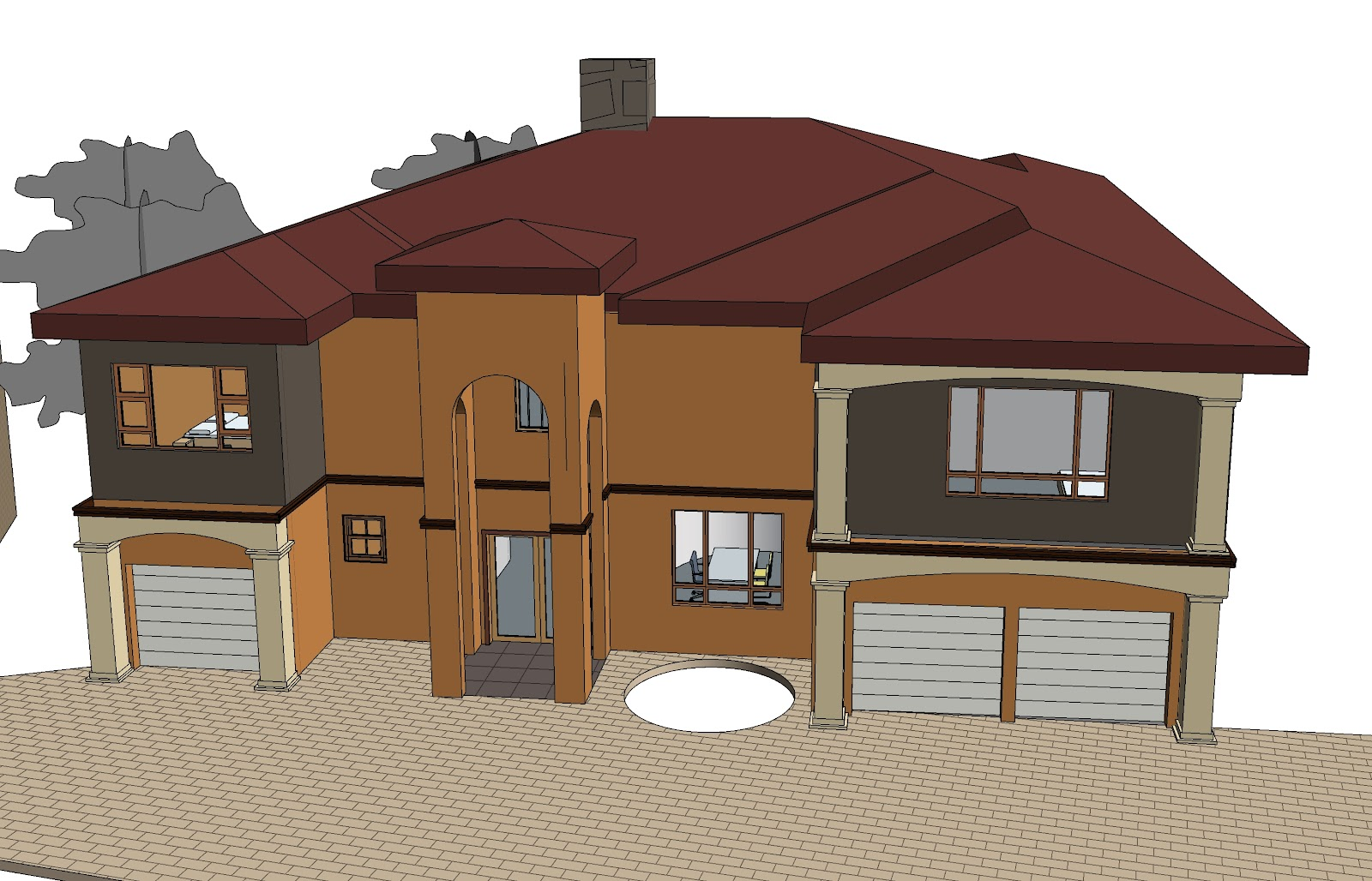 Kabu concepts Tuscan houses pictures in south africa