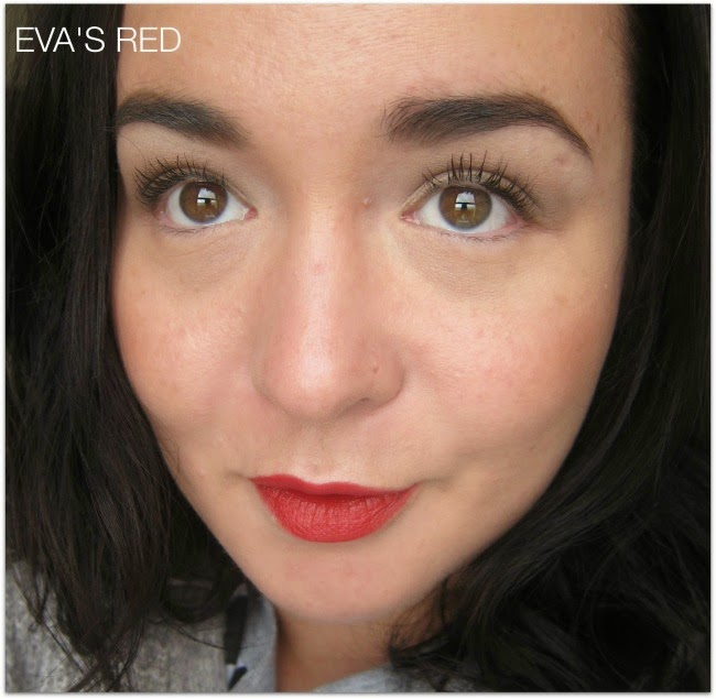 Eva's Red L'Oréal Paris Colour Riche Exclusive Reds
