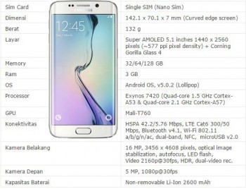Smartphone Samsung Android Tercanggih