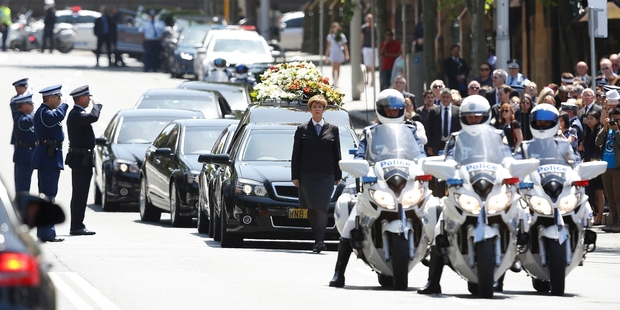 Police farewell 'gentle' colleague