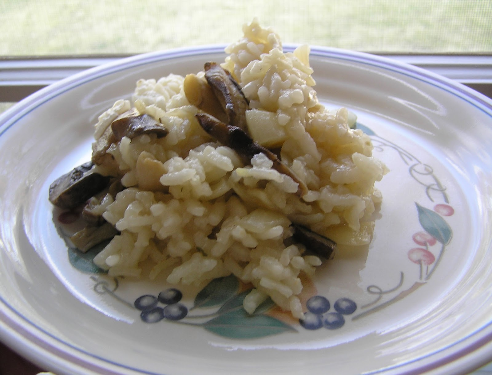 Oh! You Cook!: Slow Cooker Parmesan-Mushroom Risotto