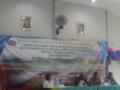IKB-PMPJ Gelar Seminar, Narasumber Komisioner HAM Natalius Pigai