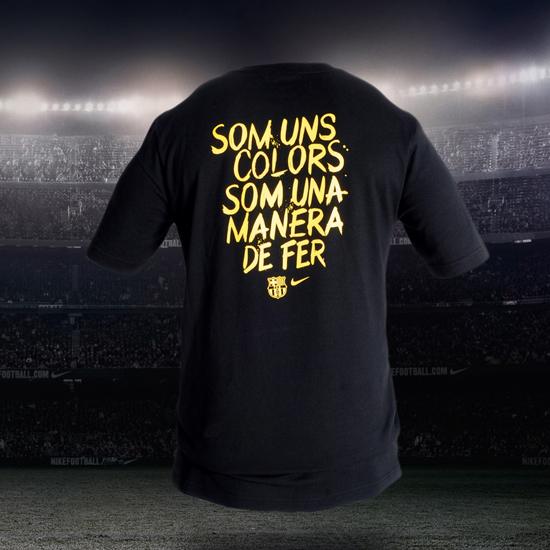 camiseta FC Barcelona Nike conmemorativa Final de la Copa del Rey 2011