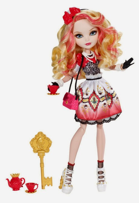 TOYS : JUGUETES - EVER AFTER HIGH   Hat-tastic Party - Muñeca - doll Apple White  Producto Oficial | Mattel BJH34 | A partir de 6 años