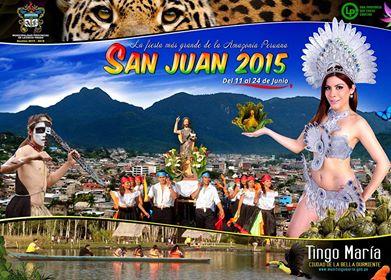 FIESTA DE SAN JUAN 2015 EN TINGO MARÍA