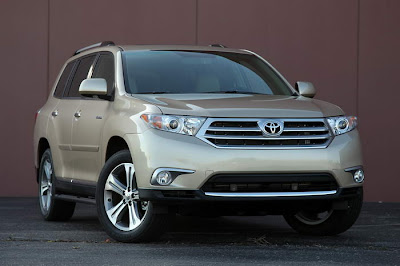 2013 Toyota Highlander Redesign and Release Date
