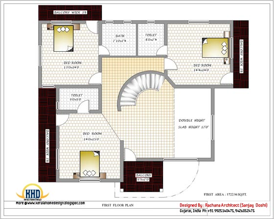 April 2012 kerala home design and floor plans 1500 sq ft house plan indian design