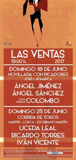 MADRID 25-06-17 CORRIDA DE TOROS.