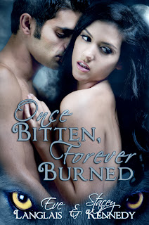 Once Bitten, Forever Burned Blog Tour: Excerpts & Giveaway