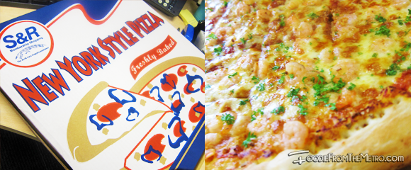 SnR Shopping - Pizza Garlic Shrimp Box Menu