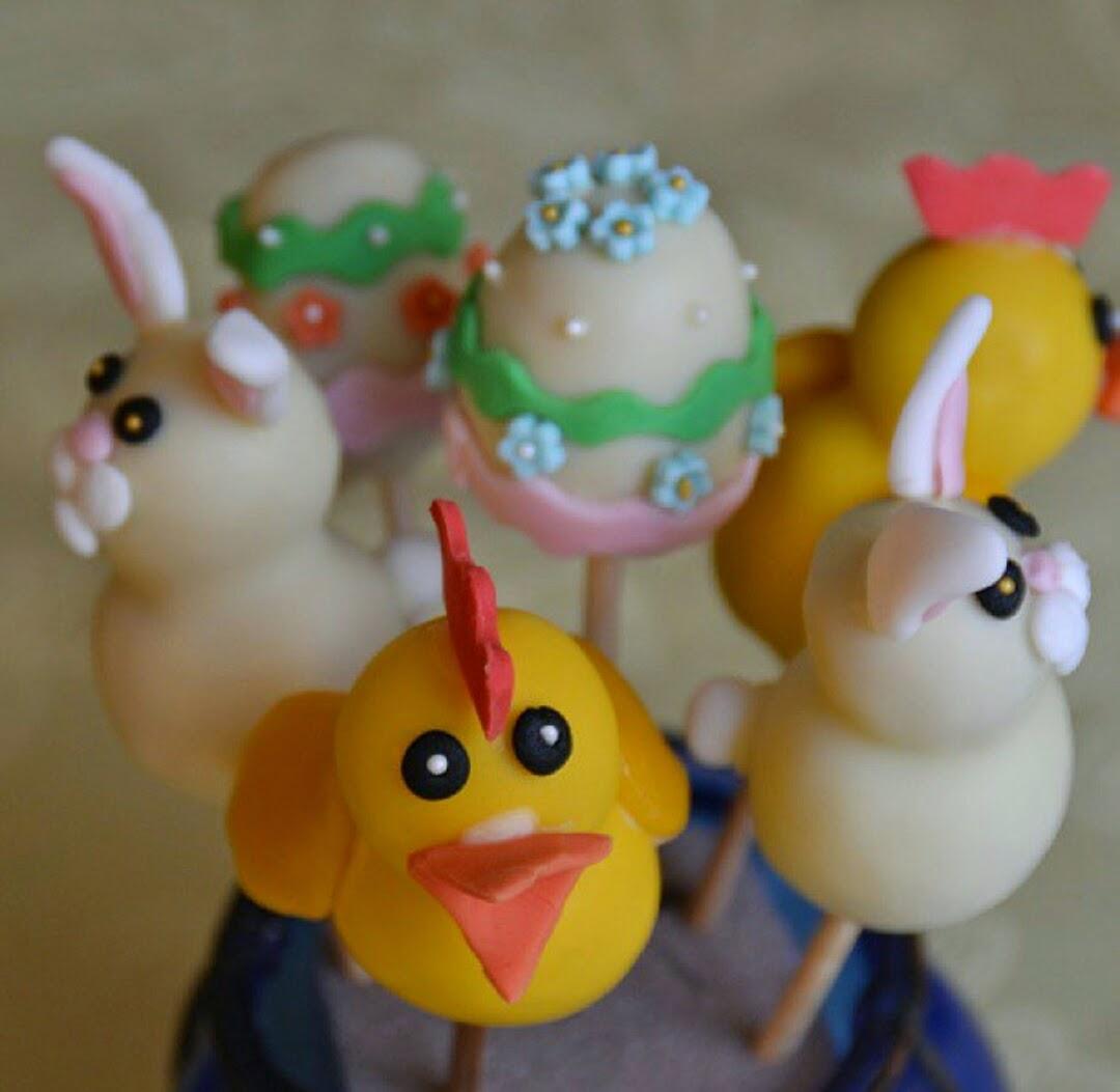 Påsk Cake pops