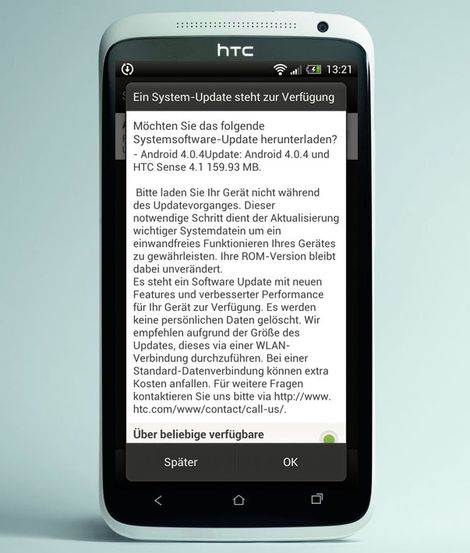HTC One XL Android 4.0.4 Sense 4.1 Update