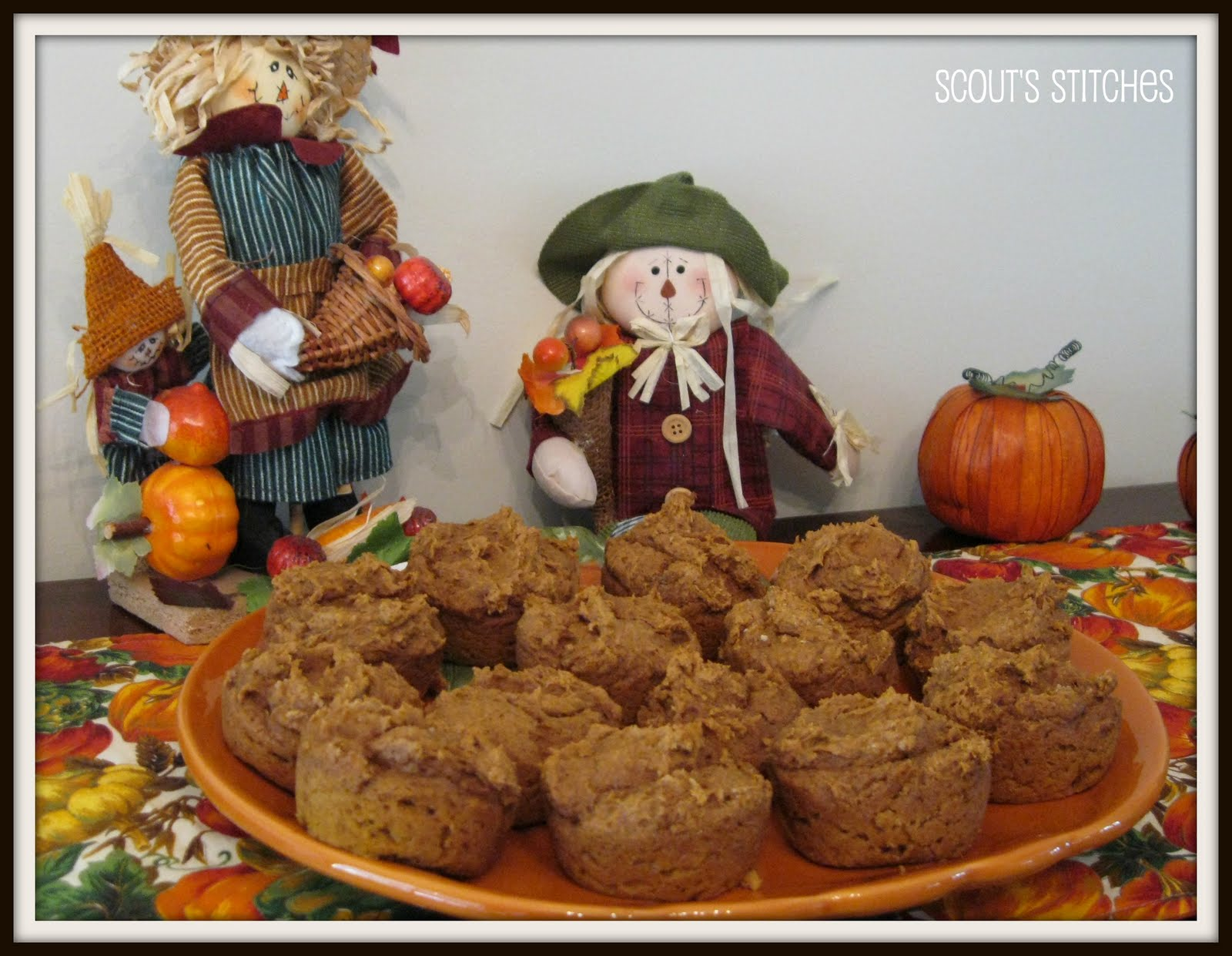 All The Joy: From Zoe's Kitchen- Easy Pumpkin Spice Muffins