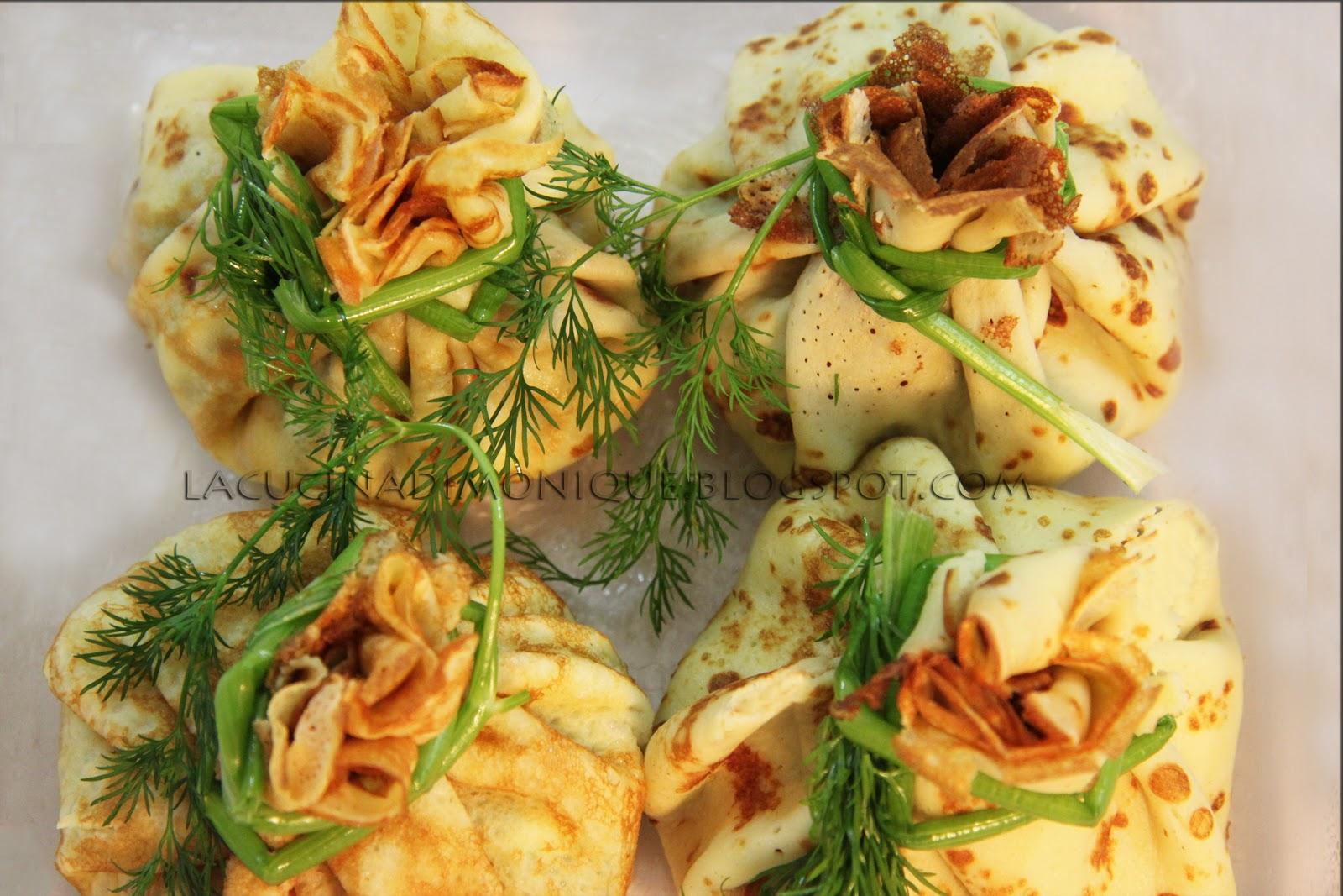 Ricetta per crepes con spinaci