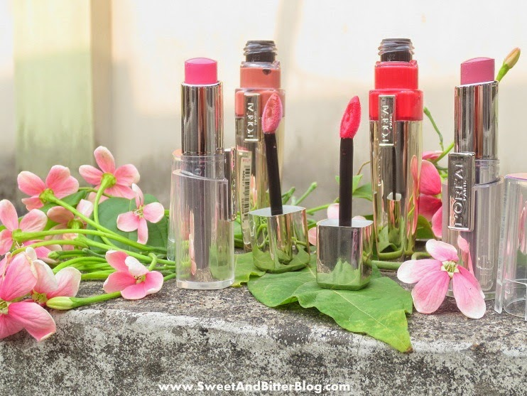 L'Oreal Paris MAUVE CHERIE Rouge Caresse Lipstick | PLUS Rose Mademoiselle, Pretty Woman, Juliette Swatch And Review