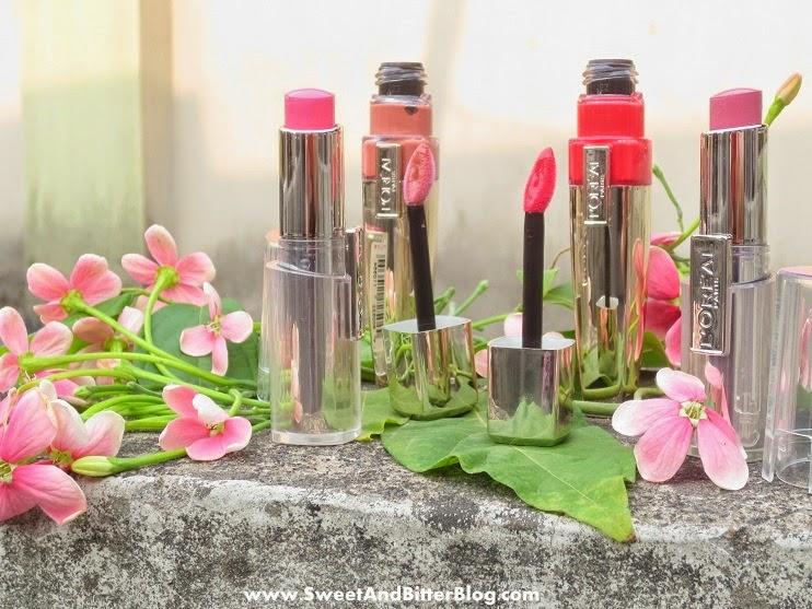 L'Oreal Paris MAUVE CHERIE Rouge Caresse Lipstick | PLUS Rose Mademoiselle, Pretty Woman, Juliette Swatch And Review