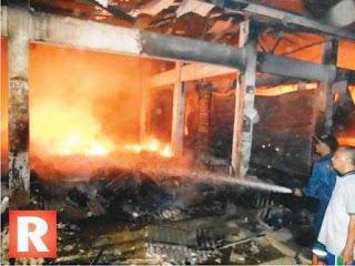 Total Kerugian Peristiwa Kebakaran Pasar Pagaden Subang Mencapai Rp6 Miliar