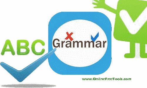 google grammar check