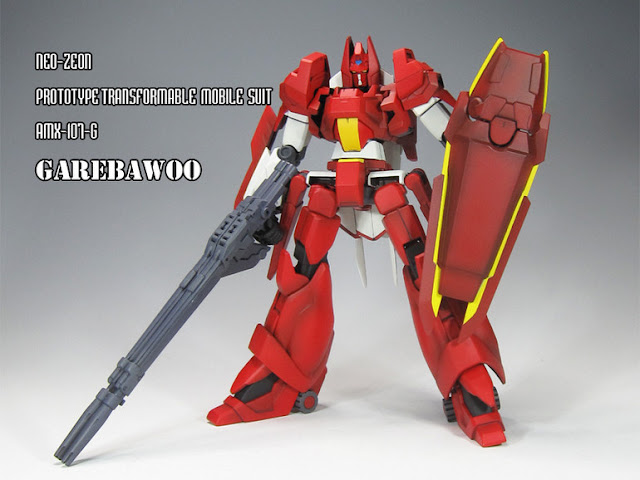 Garebawoo transformable model kit