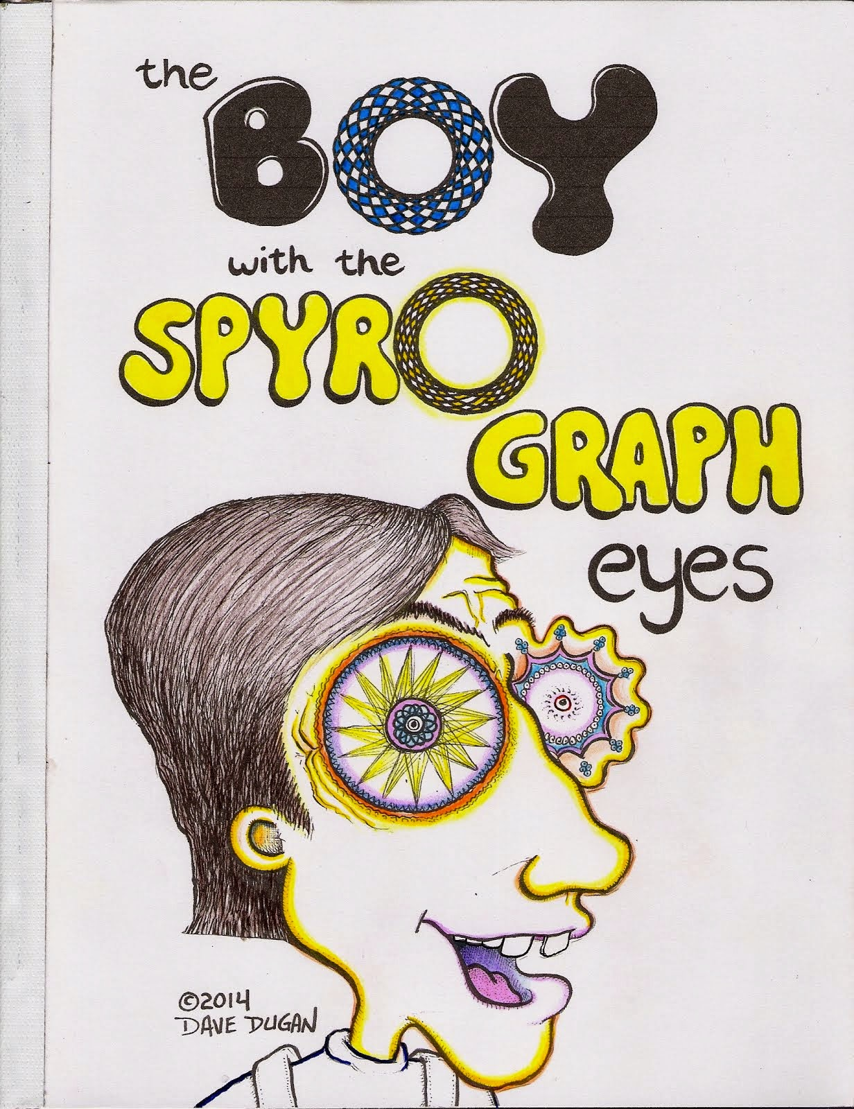 The Boy With The Spyrograph Eyes
