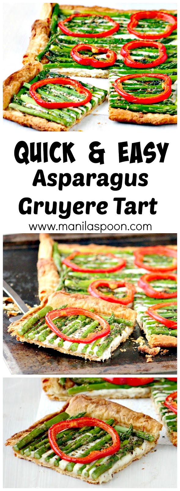 ... Cooking Across America (Demarle Cookbook) - Asparagus Gruyere Tart