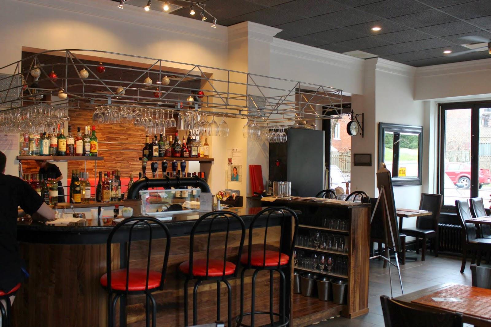 le FLAG bistro-pizz Flagrant Délice restaurant intérieur