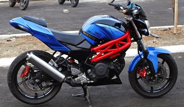 Modif Yamaha Byson Full Fairing
