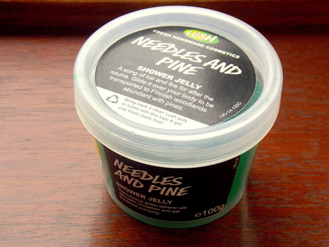 Lush Oxford Street- Needles And Pine Shower Jelly Review