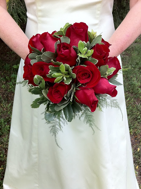 Red Rose Bridal Bouquet - Stein Your Florist Co.