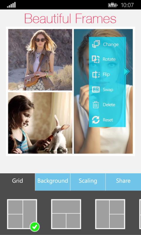 Editores de fotos para windows phone for Editor de fotos b612