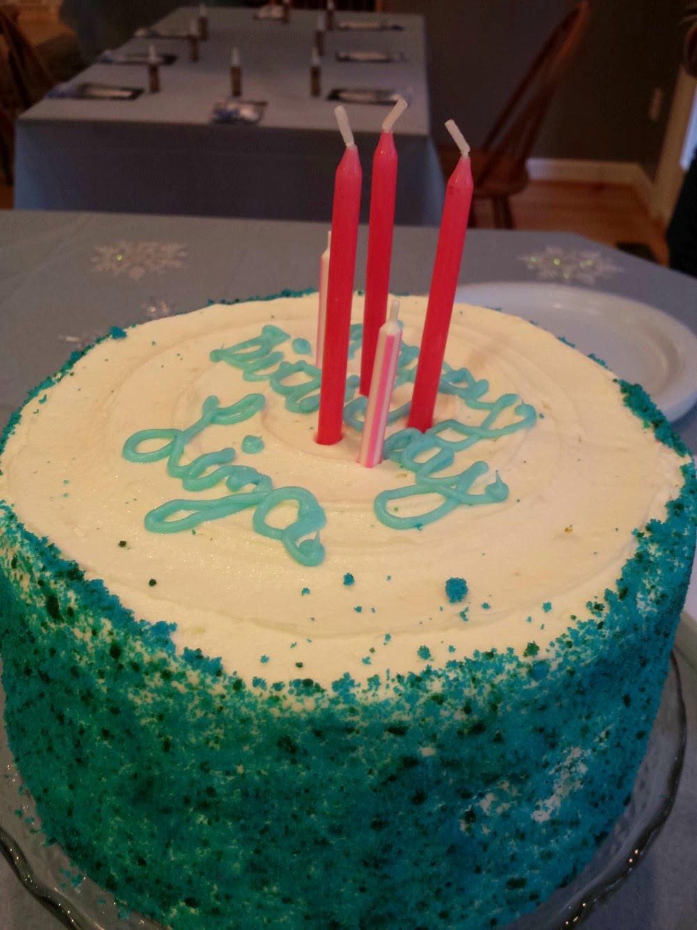 Frozen-themed Birthday