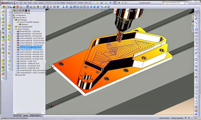 Solidcam 2015 Sp0 x86 for solidworks 2012 15