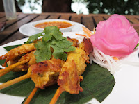 Chicken satay - Tropical Spice Garden, Penang