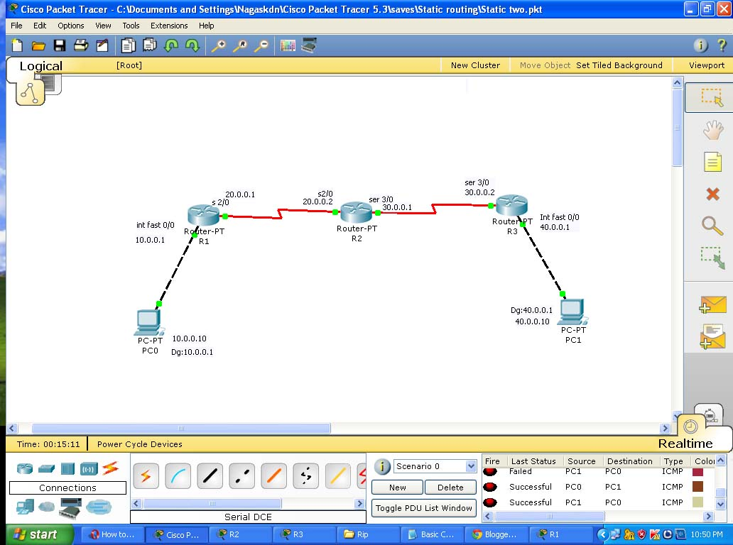 cisco packet tracer simulation software